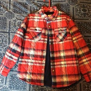 Boys Cat & Jack flannel jacket